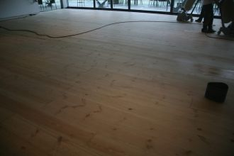 Existing Hardwood & Softwood flooring re-sanded and finished with oil/lacquer in Newcastle/North east/Tyneside