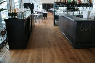 Ted Todd solid Rustic 200mm Oak flooring finished with Carls Oil 45 FSC Oak Newcastle/Gateshead, north east